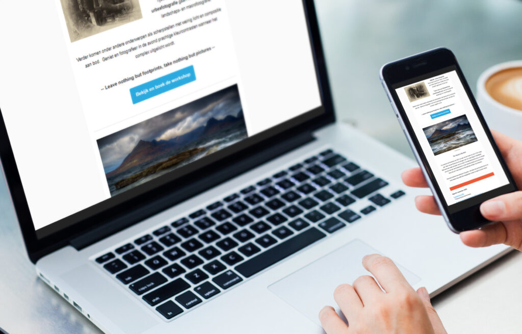 Communicatie e-mailmarketing Picha Foto
